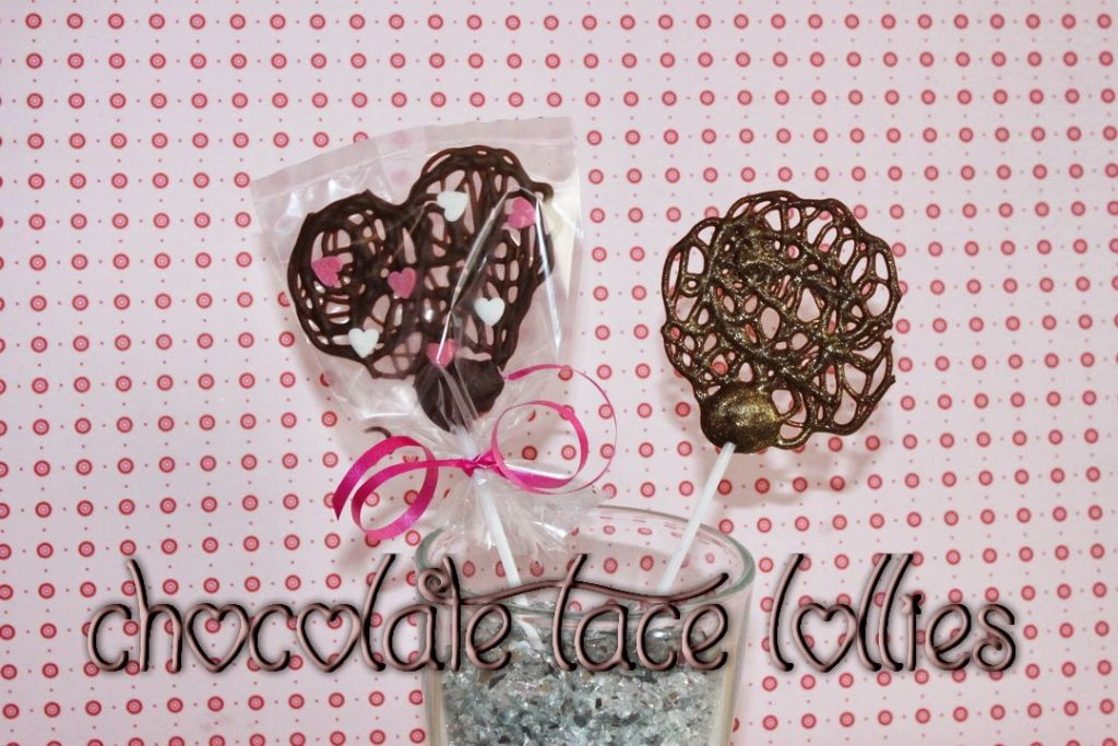 last minute idee zum valentinstag chocolate lace lollies absolute lebenslust. Black Bedroom Furniture Sets. Home Design Ideas