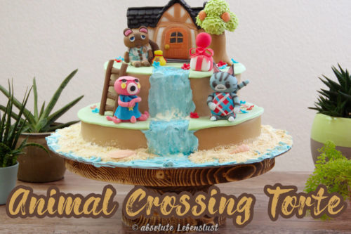 animal crossing cake, animal crossing, new horizons, torte, motivtorte, tom nook, kuchen, fondant, selber machen, anleitung, mit video