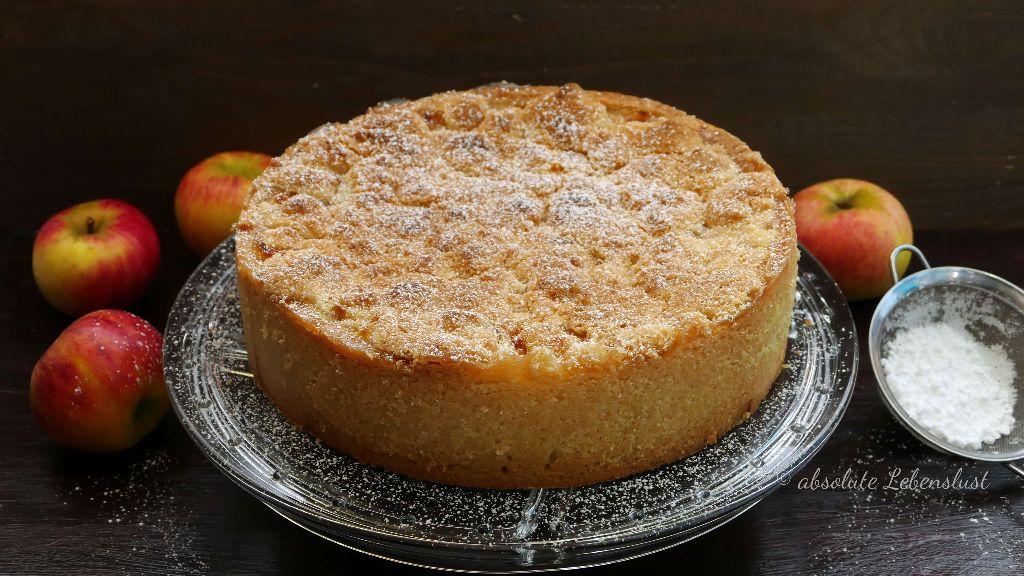 Apfel Streuselkuchen Rezept Der Beste Apfelkuchen Mit Streuseln