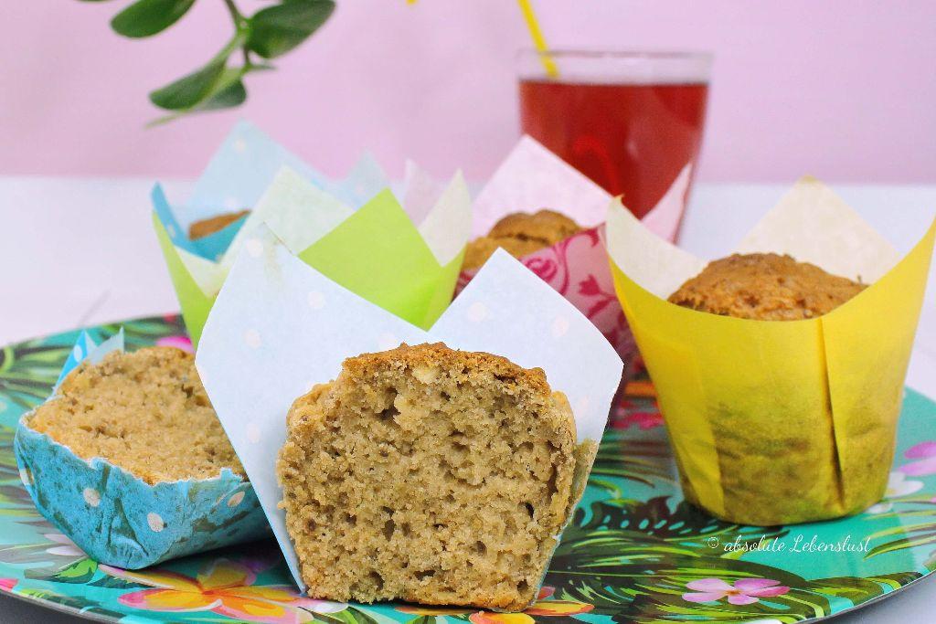 gesunde apfel muffins ohne zucker vegan backen ohne ei milch und butter absolute lebenslust. Black Bedroom Furniture Sets. Home Design Ideas