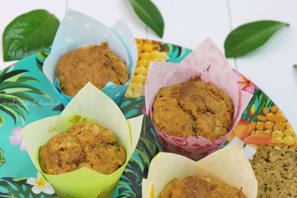 apfelmuffins, muffins backen, muffins rezept, muffin rezepte, muffins selber backen, ohne zucker, ohne ei, backen, kuchenrezepte, absolute lebenslust