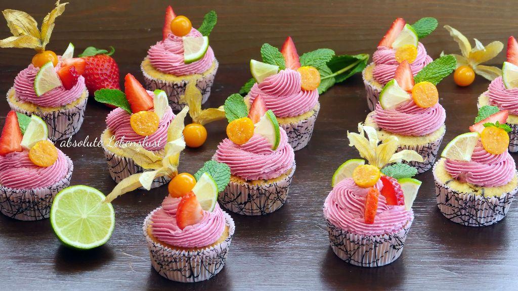 beeren cupcakes, schöne cupcakes backen, cupcakes wie vom bäcker, cupcakes dekorieren, cupcakes mit obst, fruchtige cupcakes, cupcakes backen, cupcake rezepte, einfach, schnell