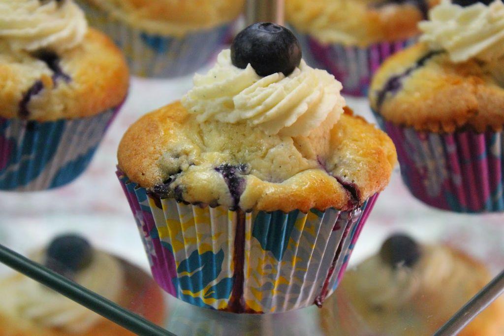 blueberry cupcake rezept, blaubeer muffins rezept, blaubeer cupcakes rezept, rezept, rezepte, backen, cupcake rezepte