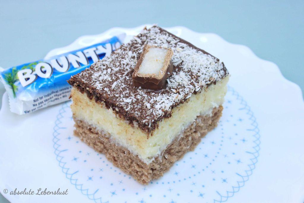 Bounty Kuchen Rezept – als Blechkuchen oder für die Springform ...