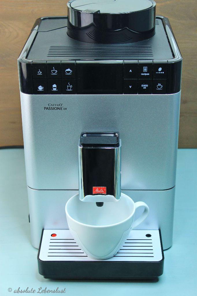 caffeo passione ot, melitta kaffeeautomat, kaffeevollautomat, melitta, kaffeetorte