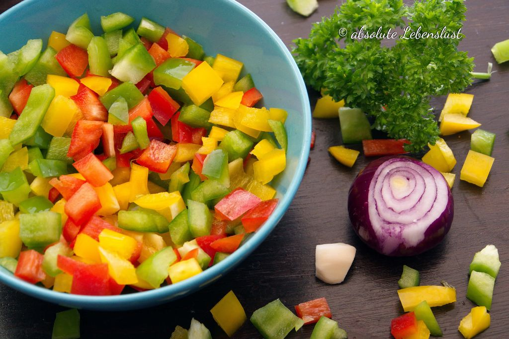 cook4me rezepte, cook4me, vegetarische rezepte, vegane rezepte, linsen, dampf garen, gnocchi pfanne, paprika pfanne(1)