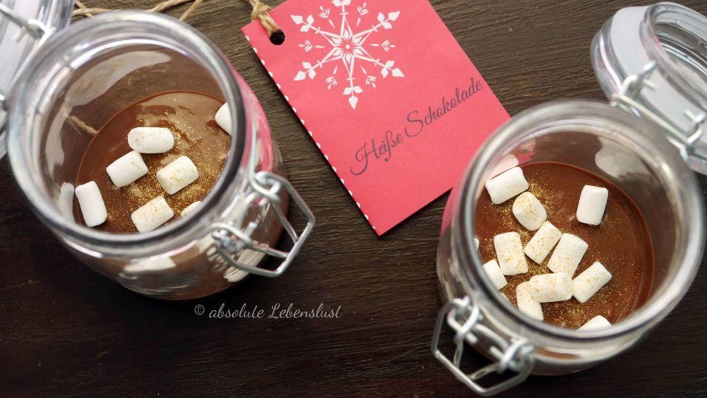 diy, heiße schokolade zum verschenken, heiße schokolade, heiße schokolade im glas, kleine geschenke, selber machen, kleine aufmerksamkeit, weihnachtliche geschenke,