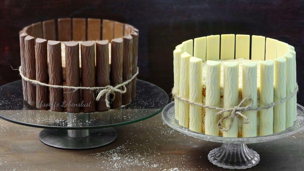 Duplo Torte Backen Rezept Für 2 Duplo Torten White Vollmilch