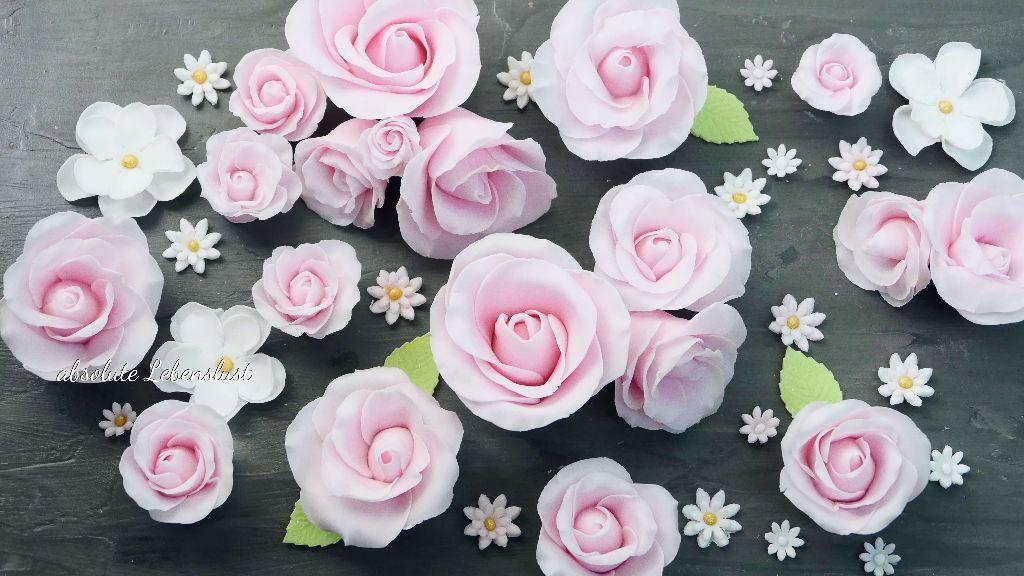 fondant rosen, fondantrosen, modellieren, herstellen, selber machen, anleitung, rosen modellieren