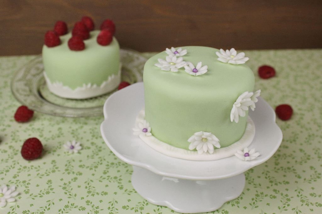 Mini Cakes Backen Einfache Torten Fur Den Fruhling Absolute