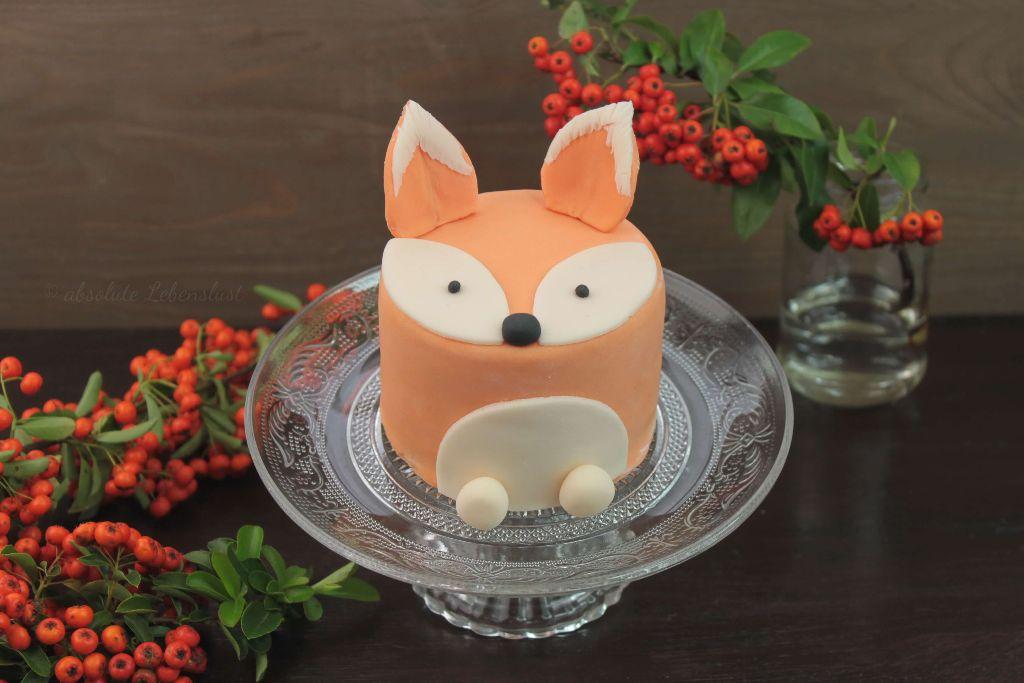 fuchs torte, fuchs kuchen, torten rezepte, torten backen, motivtorten, selber machen, backen, kindergeburtstag, geburtstagstorte, fox cake, mini cakes