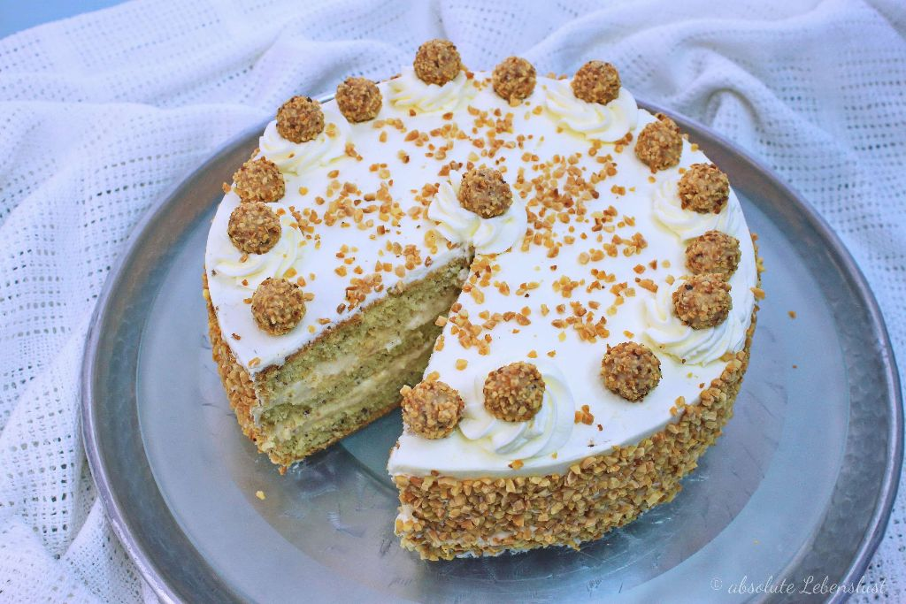Giotto Torte Rezept – Sahnetorten backen | absolute Lebenslust