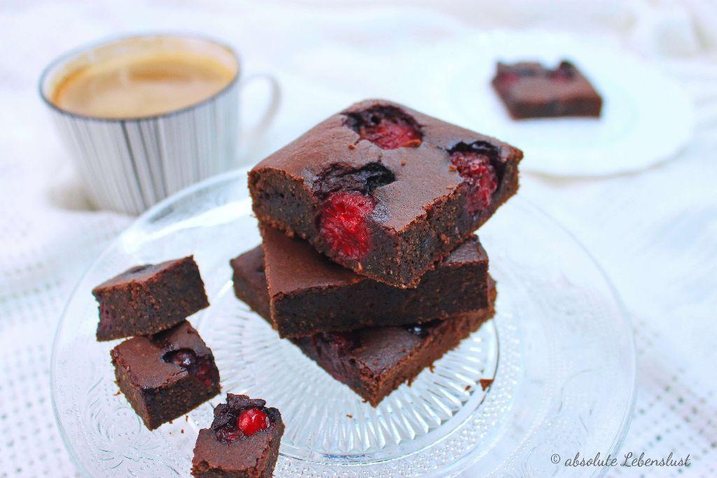 gesunde brownies ohne zucker ohne mehl glutenfrei backen absolute lebenslust. Black Bedroom Furniture Sets. Home Design Ideas