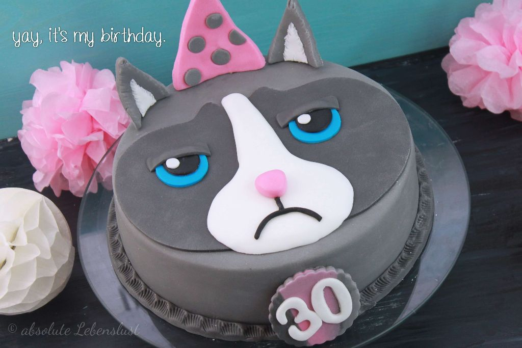 grumpy cat motivtorte katzen torte geburtstagstorte. Black Bedroom Furniture Sets. Home Design Ideas