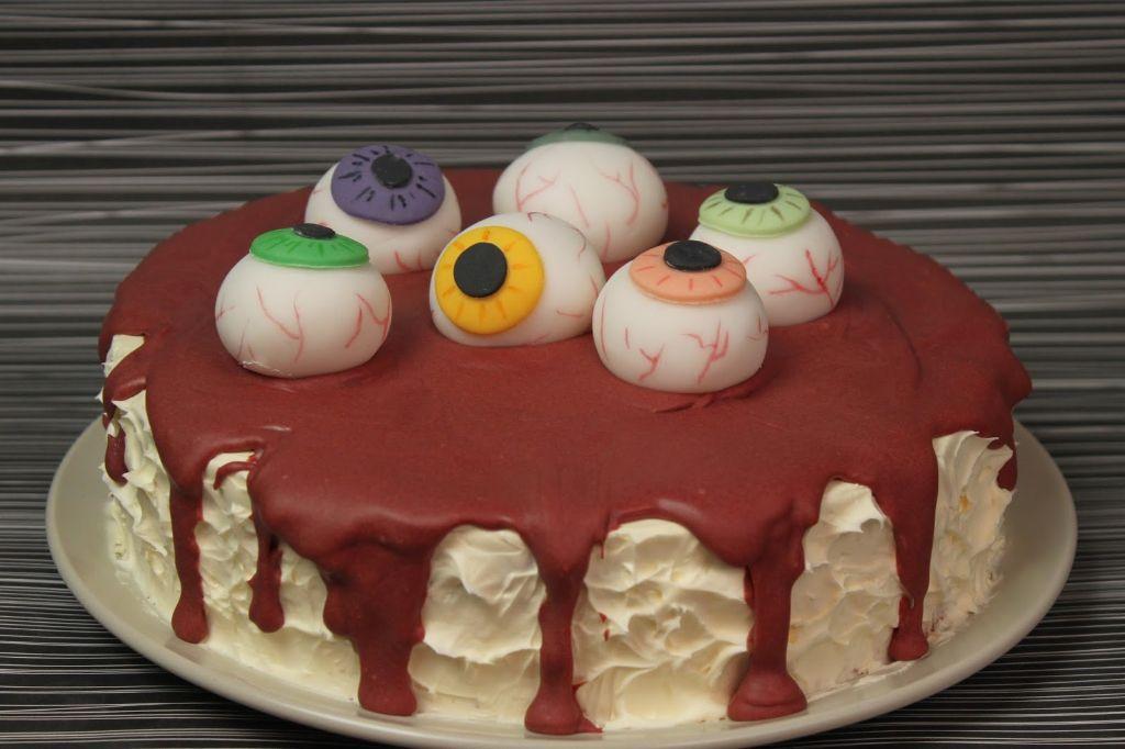 halloween torte, blutige halloween torte, halloween essen, halloween rezepte, motivtorte selber machen, mit bild, tortenrezepte