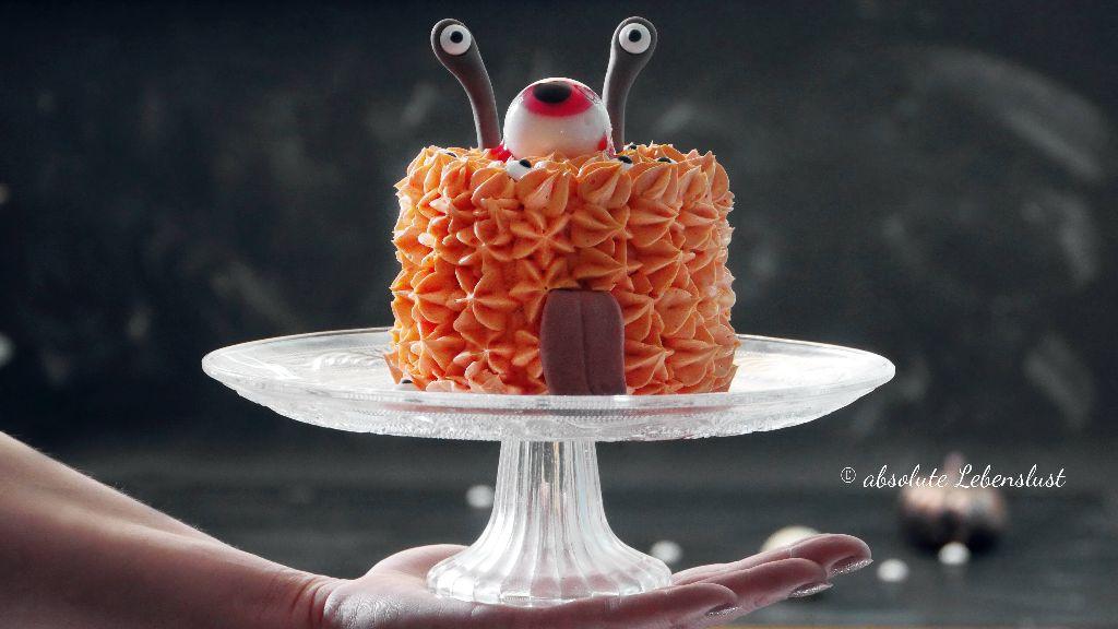halloween torte, halloween törtchen, halloween kuchen, monster kuchen, monster torte, alien kuchen, alien torte