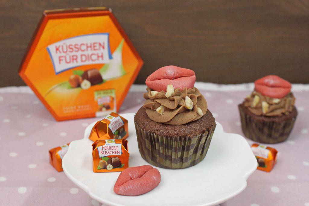 küsschen rezepte, küsschen cupcakes, ferrero küsschen, torten rezepte, cupcake rezepte, geburtstagstorte backen, candy table, cupcakes dekorieren, cupcake rezepte