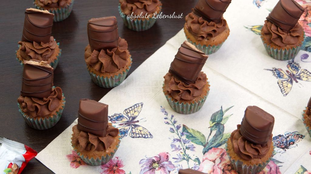 kinder bueno, kuchen, torte, muffins, cupcakes, backen, rezept, selber machen, schoko, ganache