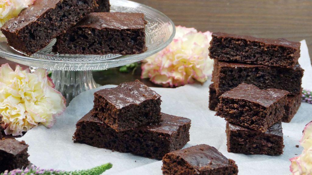 Gesunde Low Carb Brownies Backen Ohne Mehl Weissen Zucker Mit