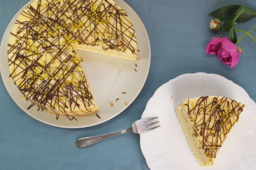 mango torte backen, mango rezepte, mango joghurt torte, joghurt torte, ohne gelatine, fruchtige tortenrezepte, leichte tortenrezepte, torten seber machen
