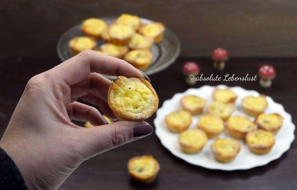 Mini Quiche Häppchen Fingerfood Fürs Party Buffet Selber Machen