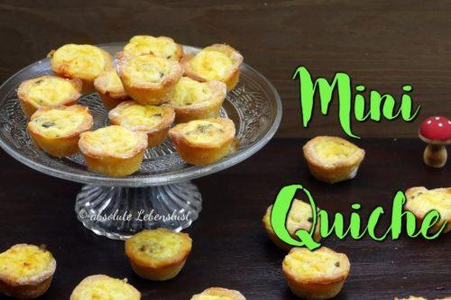 mini quiche, quiche, rezept, selber machen, vegetarisch, pizzateig, hefeteig, snackideen, fingerfood, silvester snacks, silvester essen, einfach, schnell, fingerfood selber machen,