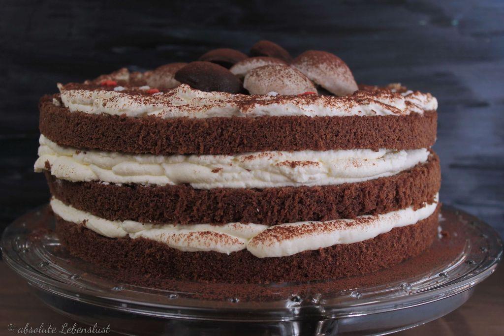 naked cake backen, naked cake selber machen, naked cake rezept, schnelle tortenrezepte, schnelle torten, einfache tortenrezepte