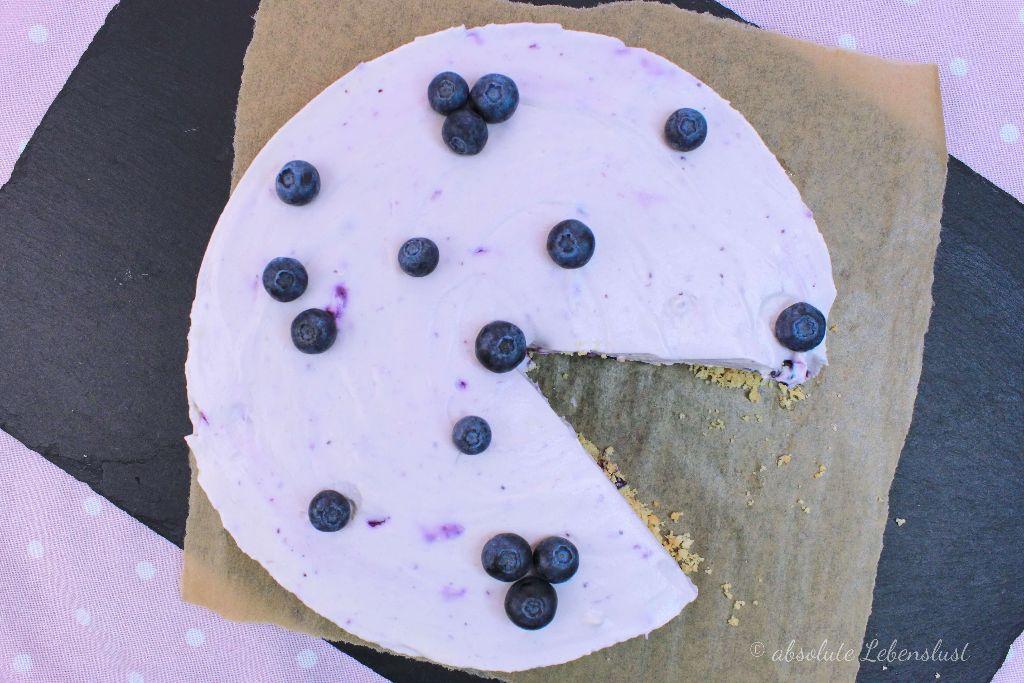 no bake torten rezepte, blueberry cheesecake rezept, blaubeer käsekuchen backen, käsekuchen ohne backen