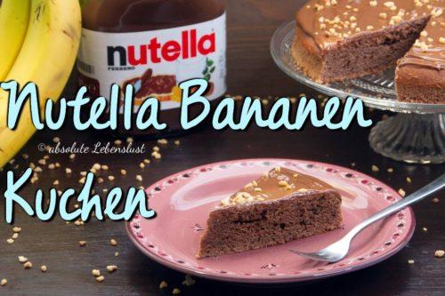 nutella bananen kuchen, nutella kuchen, backen, rezept,r ezepte, selber machen, nutella kuchen backen, bananen nutella kuchen, einfach