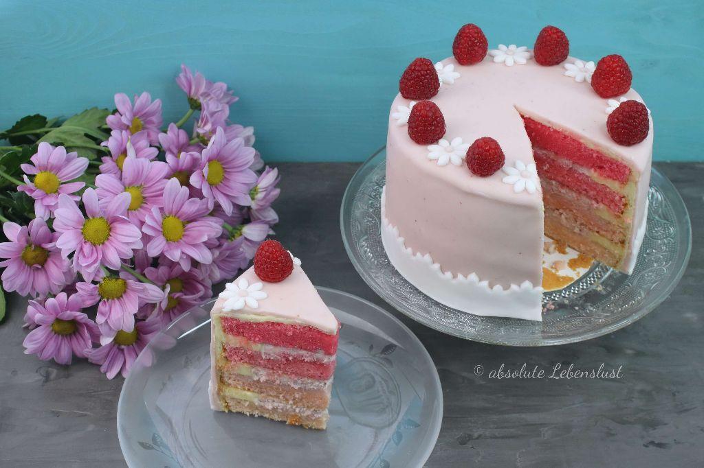 ombre torte, ombre torte backen, torten selber machen, torten rezepte, torte baken, torte selber machen, muttertagstorte backen