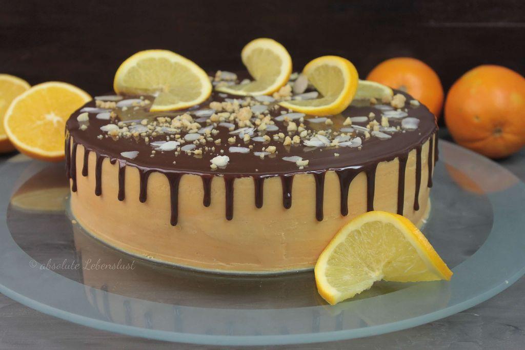 orangentorte, orangentorte backen, orangentorte selber machen, orangenkuchen backen, orangenkuchen rezept, selber machen, backen, drip cake