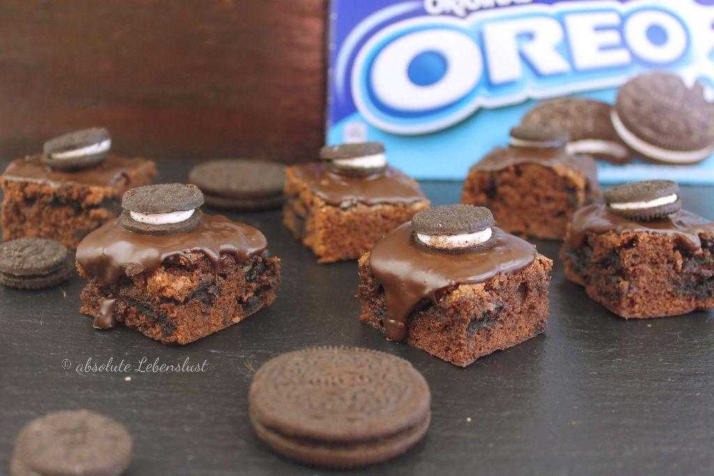 oreo brownies, oreo brownies backen, oreo brownies selber machen, oreo brownie rezept, oreo brownies rezept