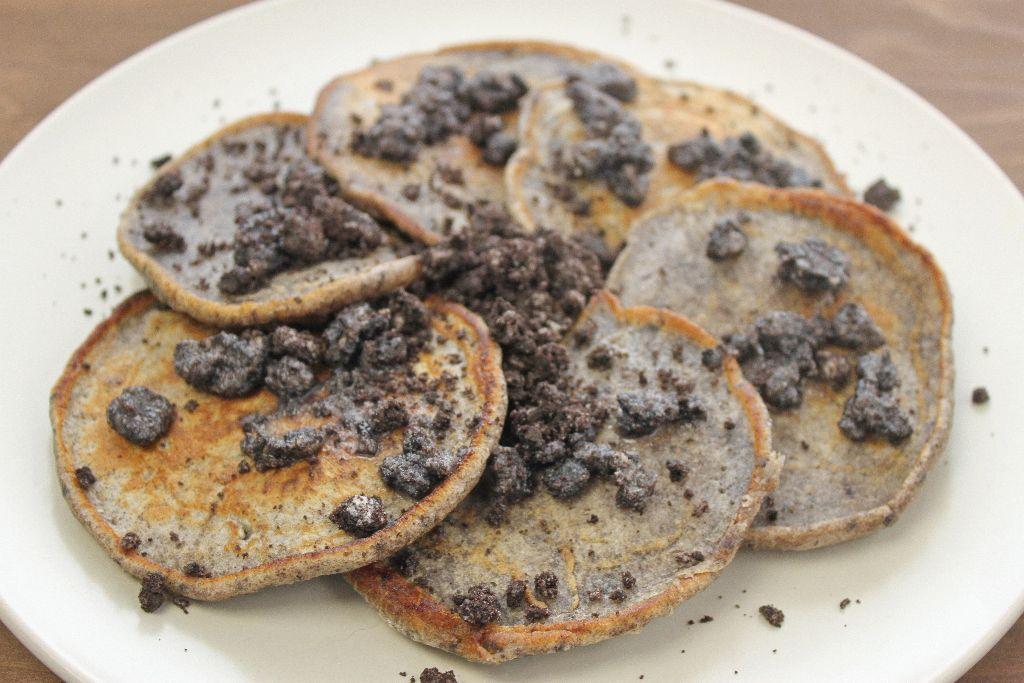 pancake ideen, oreo pancakes, oreo pancakes selber backen, pancakes rezepte, rezepte für pancakes, rezept für pancakes