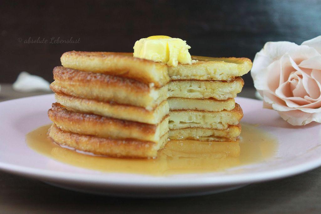 pancakes selber machen, leckere pancake rezepte, pancake rezepte, pacake rezept, backen, selber machen, pfannkuchen, eierkuchen, käsekuchen aus der pfanne