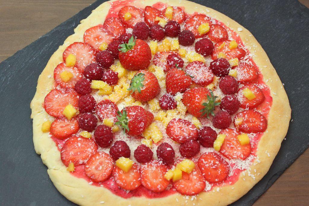 pizza ideen, frucht pizza, obst pizza, pizza mit früchten, süße pizza, rezept, rezepte, selber machen, rezepte mit obst, gesunde rezepte