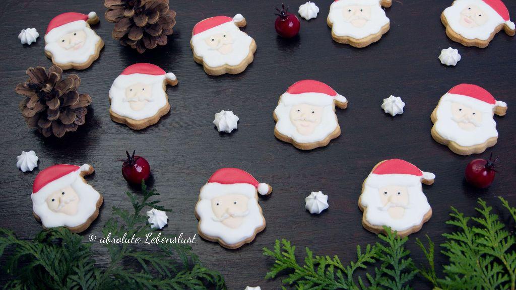 plätzchen rezepte, weihnachtsmann plätzchen, nikolaus plätzchen, backen, rezept, plätzchen dekorieren, selber machen