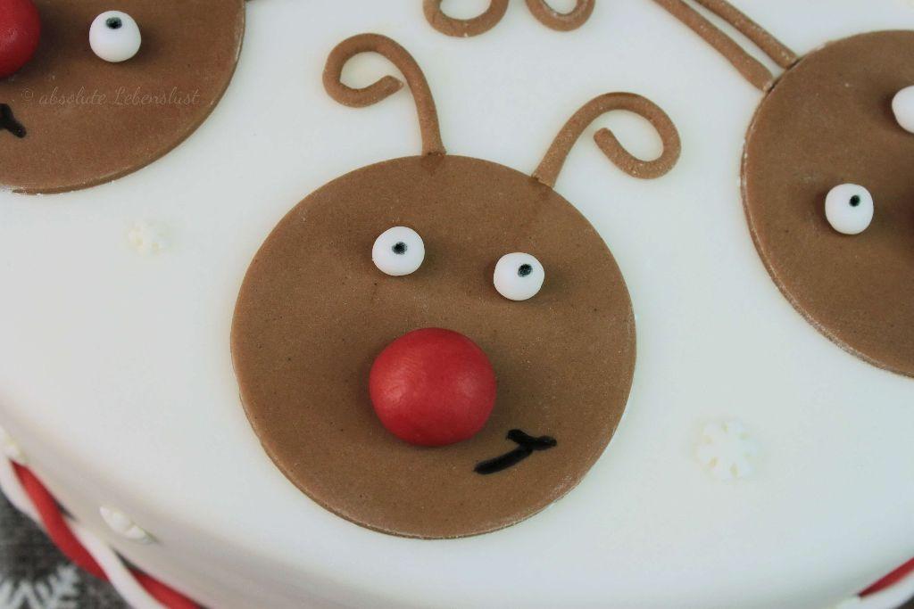 rentier motivtorte, backen, seber machen, rezept, apfeltorte, rotweintorte, rotwein torte, mit bild, mit video, weihnachtstorten, weihnachtliche torten