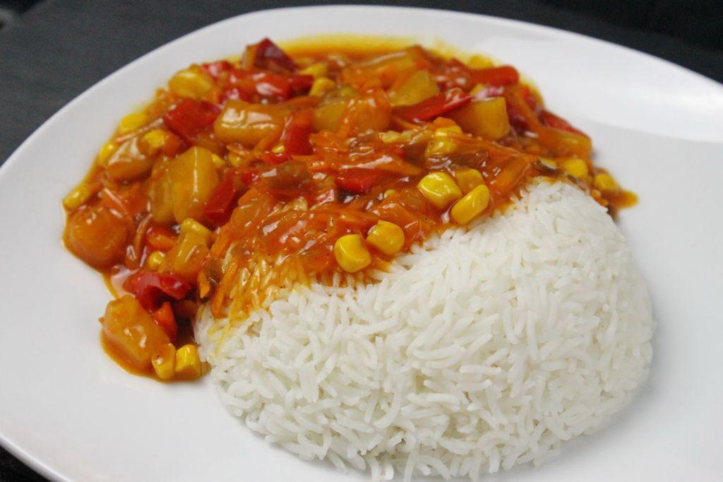 Reis Süß Sauer Rezept Asiatische Rezepte Vegan Absolute Lebenslust