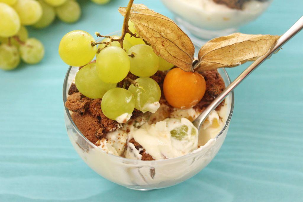schoko dessert im glas, dessert im glas selber machen, dessert rezept, nachtisch selber machen, quarkspeise selber machen, cookie nachtisch, selber machen