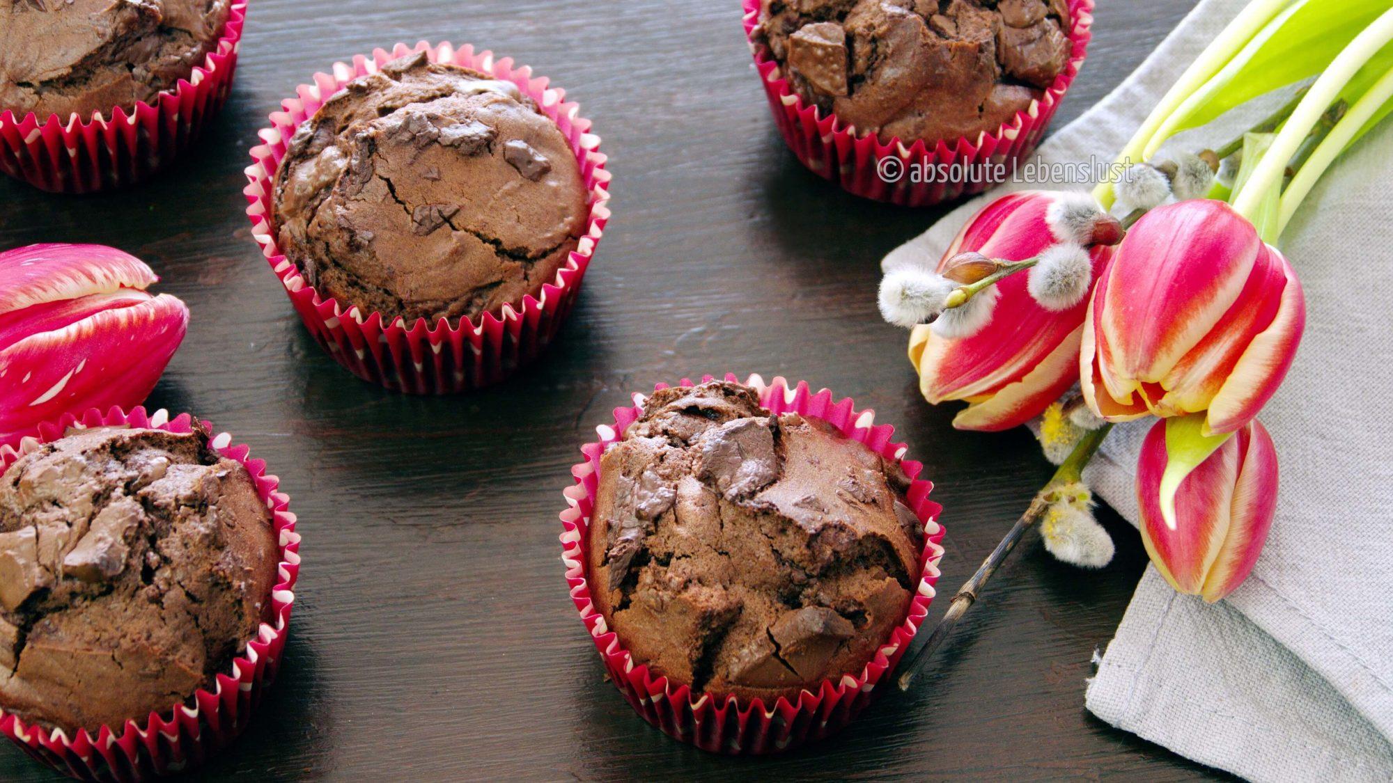schoko muffins, schokoladen muffins, backen, rezept, selber machen, muffins rezept, muffin rezepte