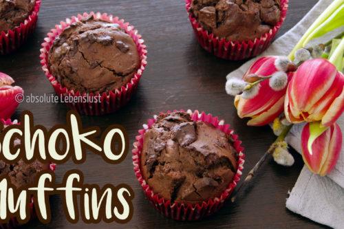 schoko muffins, schokoladen muffins, backen, rezept, selber machen, muffins rezept, muffin rezepte, absolute