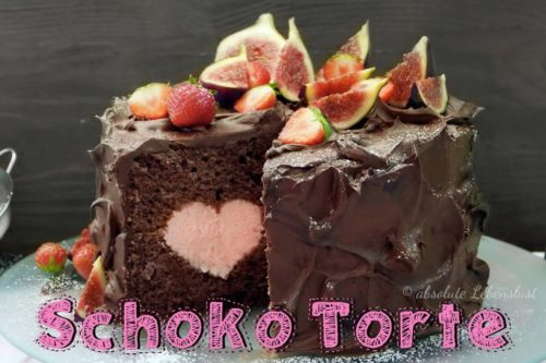 schoko torte, schokotorte, herz torte, herztorte, herz im inneren, motivtorte, ohne fondant, torte, ganache, backen, rezept, torte mit früchten, wilton oan, heart, herz