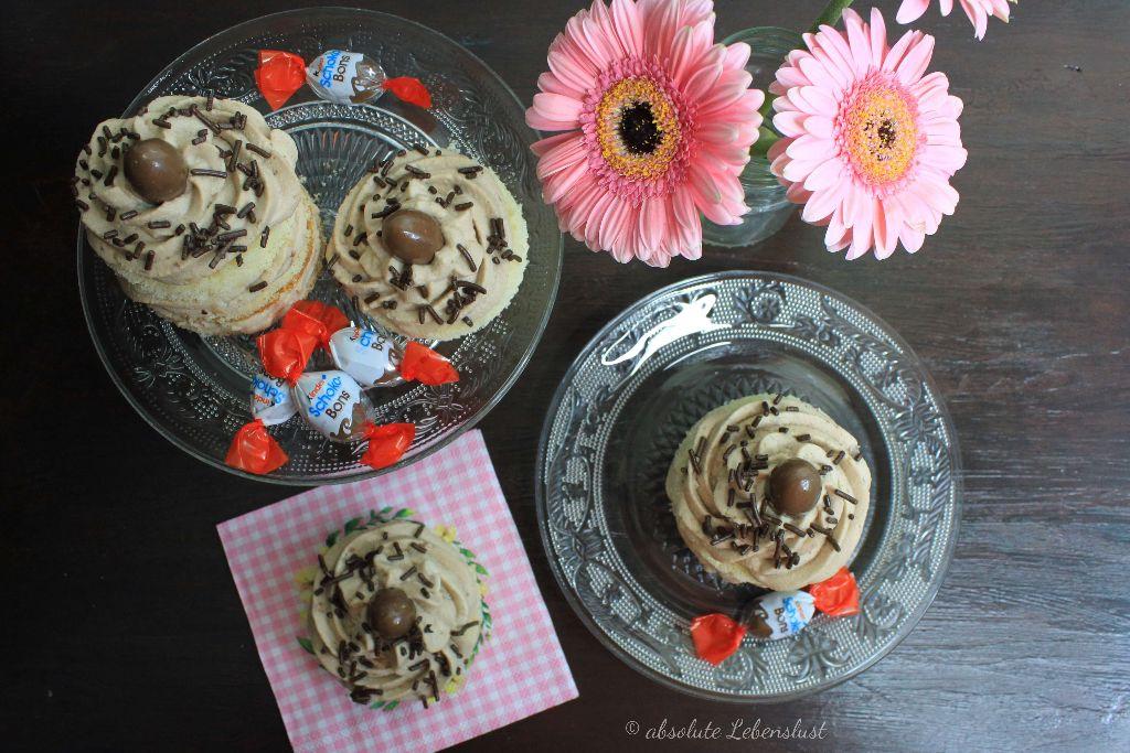 Kinder Schokobons Törtchen Backen Kleine Torten Selber Machen