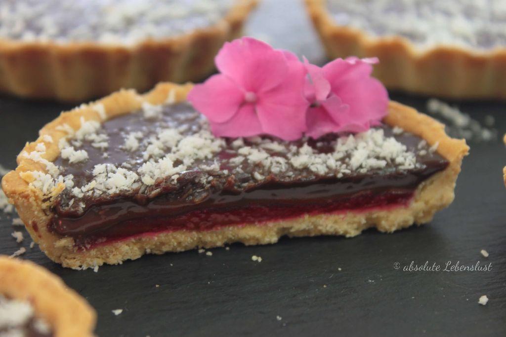 schokoladen tarte mit himbeeren, schoko tarte mit himbeeren, backen, selber machen, rezept, tarte backen, tartelettes mit himbeeren