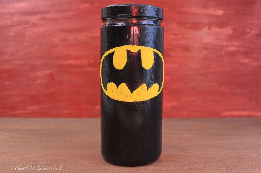 Spardose Selber Machen, Batman Spardose, Geschenke Selber Machen, Geschenke  Basteln, Geschenke Selber