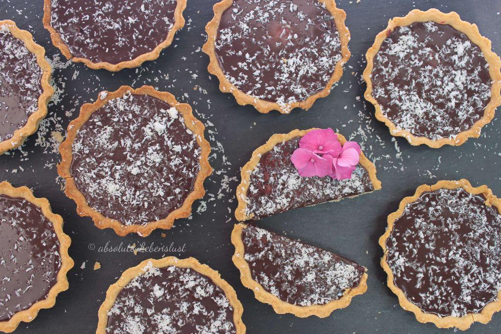 tarte au chocolate rezept, tarte au chocolate, backen, rezept, deutsch, mit video, mit bild, selber machen, tartelettes