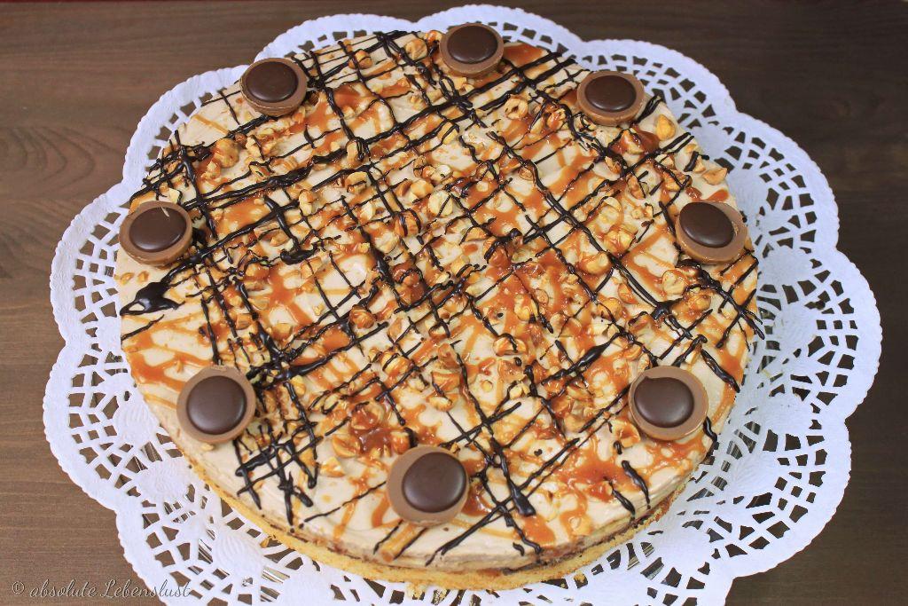 Toffifee Torte Backen Karamell Nougat Torte Absolute Lebenslust