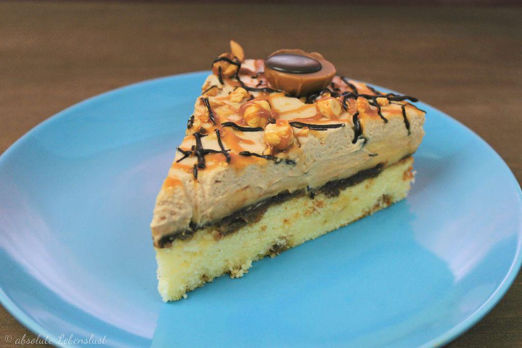 toffiffee torte backen, toffifee torte rezept, toffifee kuchen rezept, food blogger