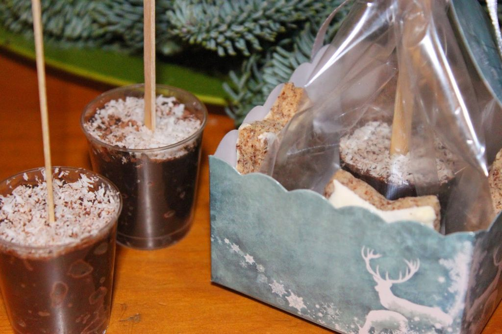 DIY Geschenke – Trinkschokolade am Stiel   absolute Lebenslust