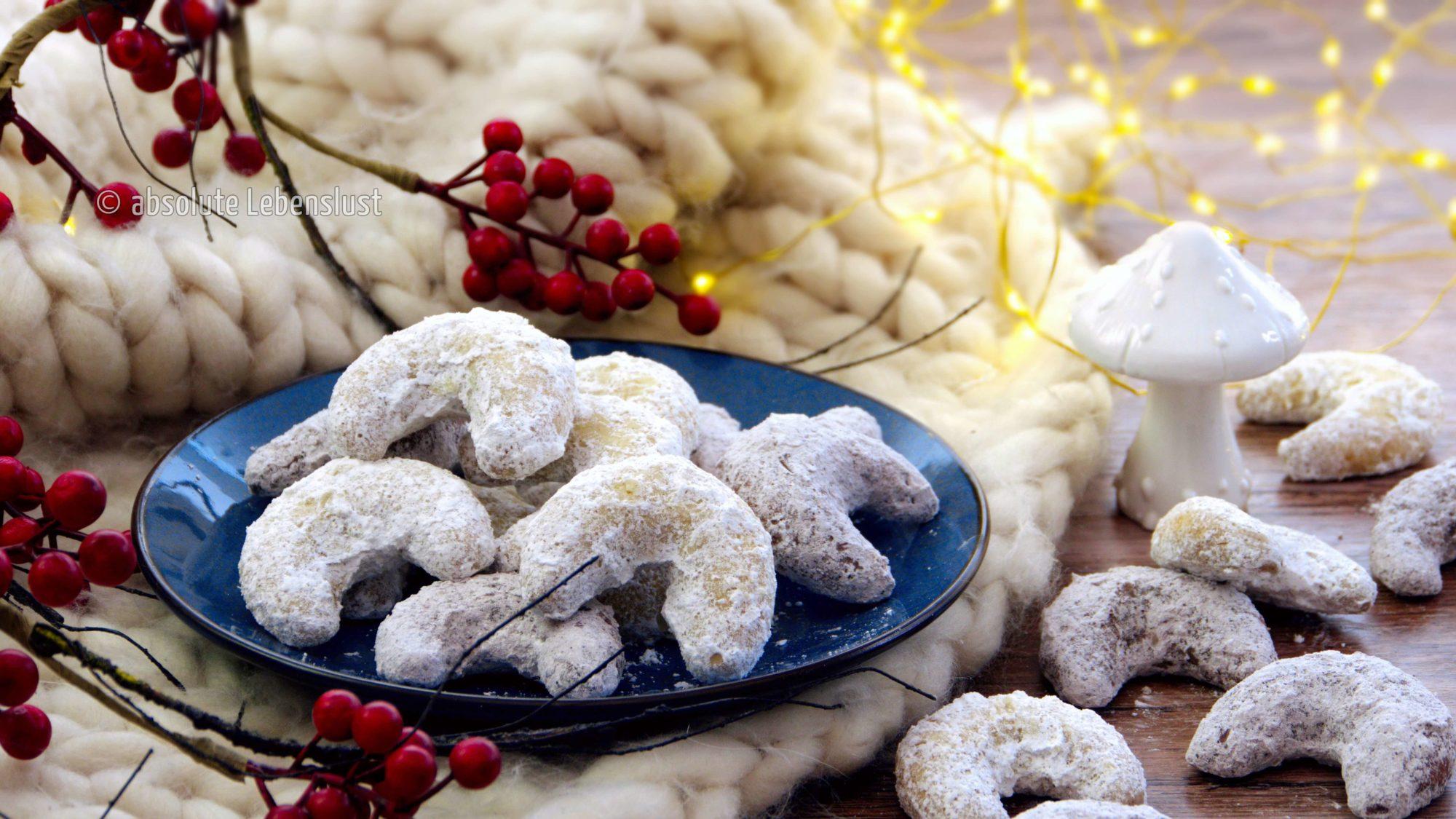vanillekipferl, schokokipferl, grundrezept, plätzchenrezepte, plätzchen rezepte, weihnachtsplätzchen, backen, selber machen